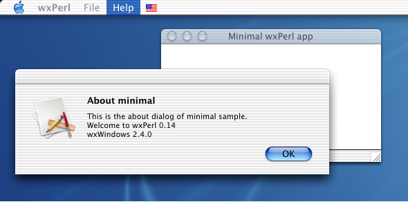 Minimal sample (Mac OS X)