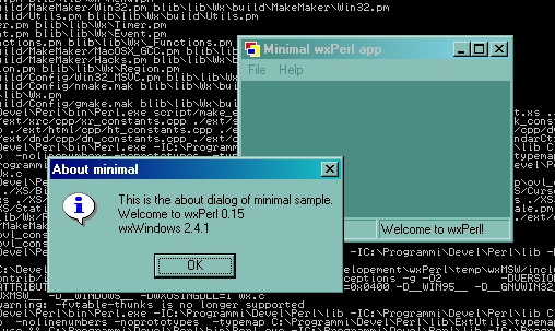 Minimal sample (Microsoft Windows 2000)